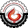 Graphic Era Hill University, [GEHU] Bhimtal logo