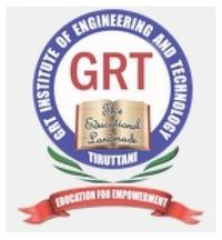 GRT Institute of Engineering and Technology, [GRTIET] Thiruvallur logo