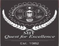 GS Mandal's Marathwada Institute of Technology, [GSMMIT] Aurangabad logo