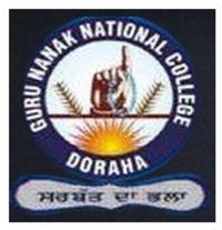 Guru Nanak National College, [GNNC] Ludhiana