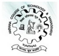 Haryana College of Technology and Management, [HCTM] Kaithal logo