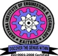 Haryana Institute of Engineering and Technology, [HIET] Kaithal