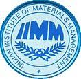 Indian Institute of Material Management, [IIMM] kolkata logo