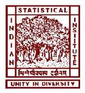 Indian Statistical Institute, [ISI] Delhi