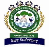 Indira Gandhi National Tribal University, [IGNTU] Anuppur logo