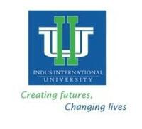Indus International University, [IIU] Una logo