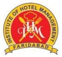 Institute of Hotel Management, [IHM] Faridabad logo