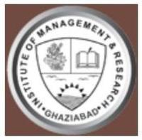 Institute of Management and Research, [IMR] Ghaziabad logo