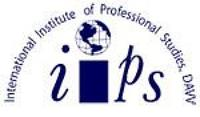 International Institute of Professional Studies, [IIPS] Indore logo