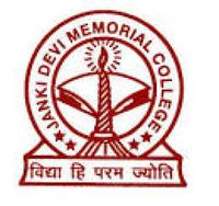Janki Devi Memorial College, Delhi University, New Delhi logo