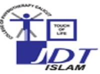 JDT Islam College of Physiotherapy, [JICOP] Calicut logo
