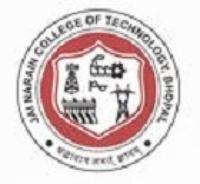 JNCollege of Technology, [JNCT] Bhopal logo