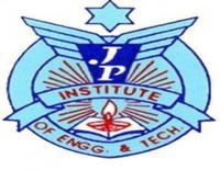 JP Institute of Engineering and Technology, [JPIET] Meerut logo