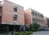 Kamala Nehru College, Delhi University logo