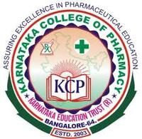 Karnataka College of Pharmacy, [KCP] Bangalore logo