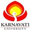 Karnavati University, [KU] Gandhinagar logo