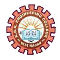 KBR Engineering College, [KBREC] Rangareddi logo