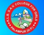 KLB DAV College for Girls, Kangra logo
