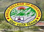 Kullu College of Education, Kullu