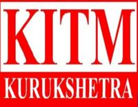 Kurukshetra Institute of Technology and Management, [KITM] Kurukshetra logo
