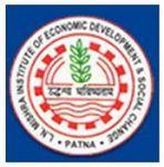 Lalit Narayan Mishra Institute of Economic Development and Social Change, Patna logo