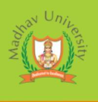 Madhav University, [MU] Sirohi logo