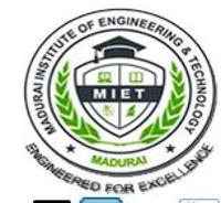 Madurai Institute of Engineering and Technology, [MIET] Sivaganga logo