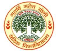 Maharishi Mahesh Yogi Vedic Vishwavidyalaya, [MMYVV] Katni