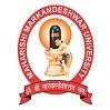 Maharishi Markandeshwar University, [MMU] Sadopur logo