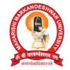 Maharishi Markandeshwar (Deemed to be University), [MMU] Mullana, Ambala logo