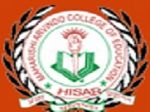 Mahrishi Arvindo College of Education, Hisar logo