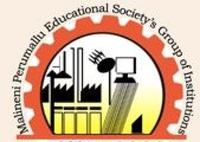 Malineni Perumallu Educational Society's Group of Institutions, [MPESGIIC] Guntur logo