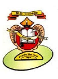 MD College, Agra logo