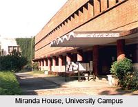 Miranda House, Delhi University logo