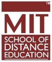 MIT School of Distance Education, [MITSDE] Pune logo