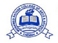 Mohamed Sathak AJ College of Arts and Science, [MSAJCAS] Chennai