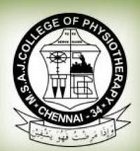 Mohamed Sathak AJ College of Physiotherapy, [MSACOP] Chennai