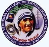 Mother Theressa College of Engineering and Technology, [MTCET] Karimnagar logo
