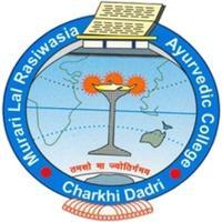 Murari Lal Rasiwasia Ayurvedic College, [MLRAC] Bhiwani logo