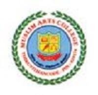 Muslim Arts College, [MAC] Kanyakumari logo
