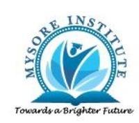 Mysore Institute of Commerce and Arts, [MICA] Mysore logo