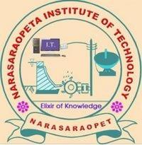 Narasaraopet Institute of Technology, [NIT] Guntur logo