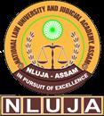 National Law University and Judicial Academy, Guwahati logo