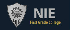 NIE First Grade College, Mysore logo