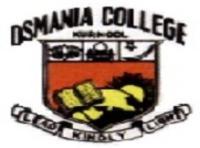Osmania College, [OC] Kurnool logo