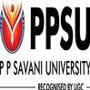 P P Savani University, [PPSU] Surat logo