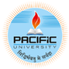 Pacific University, [PU] Udaipur logo