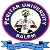 Periyar University, [PU] Salem logo
