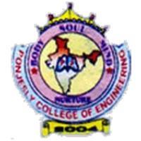 Ponjesly College of Engineering, [PCE] Kanyakumari logo