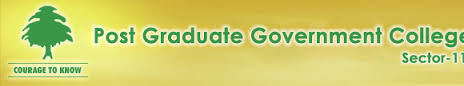 Post Graduate Government College for Girls, Chandigarh logo